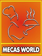 Mecas World Logo