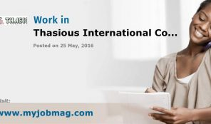 THASIOUS INTERNATIONAL COMPANY LIMITED –  CLEARING AGENTS – ISOLO