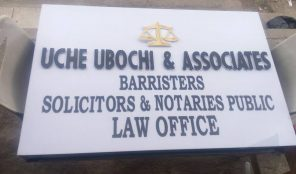 UCHE UBOCHI & ASSOCIATES – LAWYER – OJO