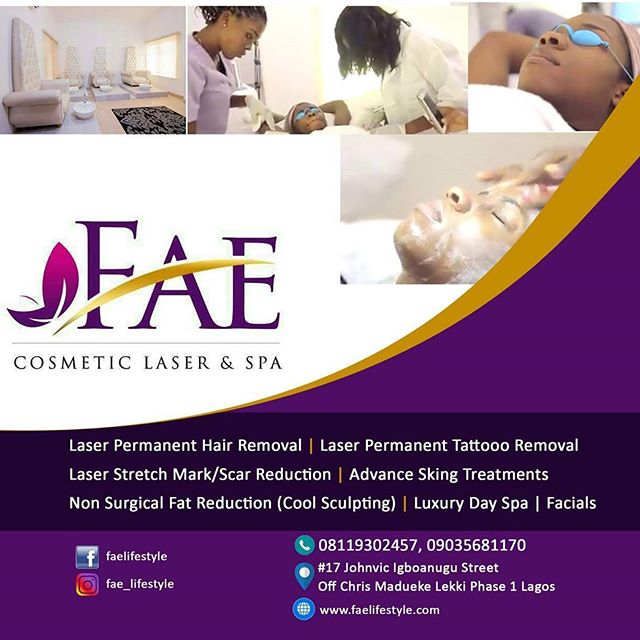 FAE COSMETICS LASA AND SPA – LEKKI