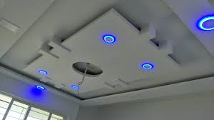 Suspended/dropped POP ceiling